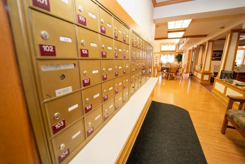 BirchHaven Village Mail Area
